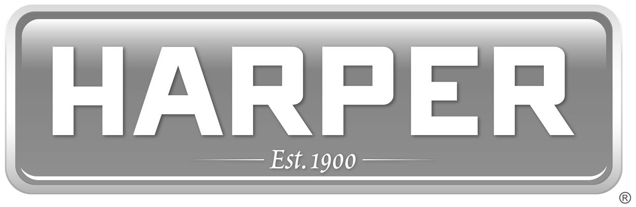 Harper Logo Grayscale