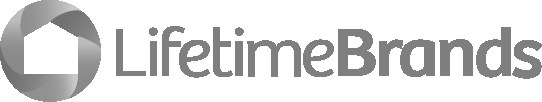 Lifetime Brands Logo Grayscale